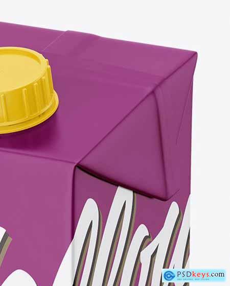 1000ml Carton Pack Mockup 70716