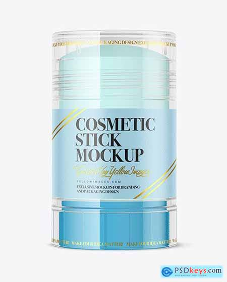 Clear Cosmetic Stick Mockup 69379