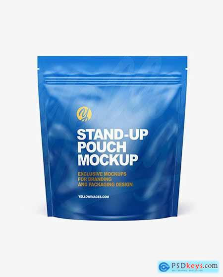 Matte Stand-up Pouch Mockup 70674