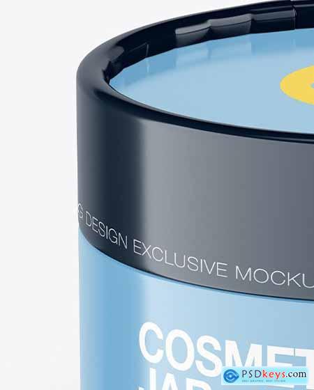 Glossy Cosmetic Jar Mockup 70687