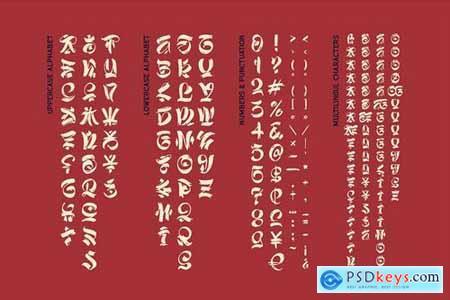 Asia Impact font