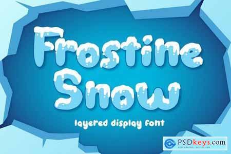 Frostine Snow - Christmas Font