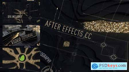 Abstract Black Gold Intro 29680098
