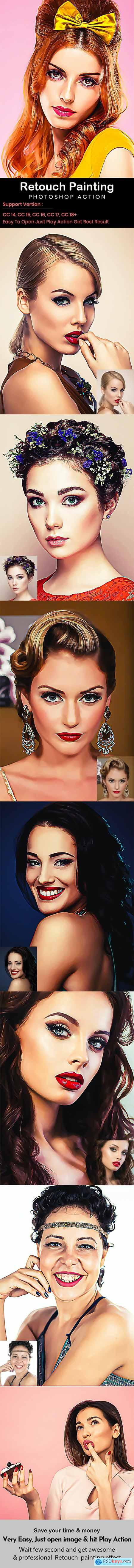 Retouch Painting Action 29150706