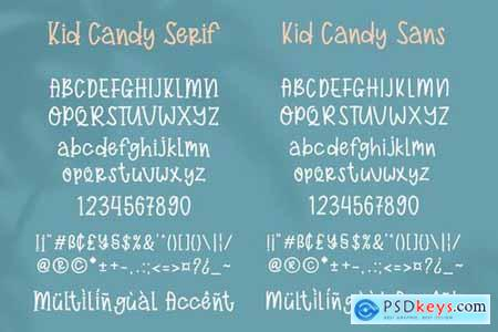 Kid Candy Duo Font