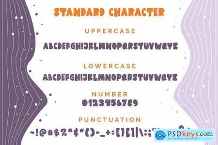 Meclando - A Playful Font