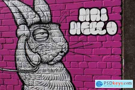 The Bold Street - Graffiti Font