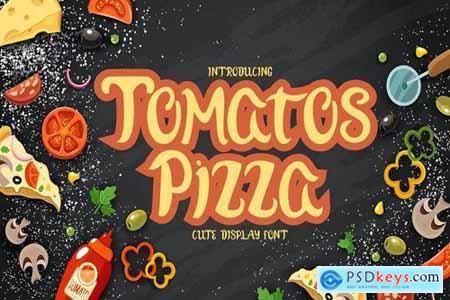 Tomatoz Pizza Display Font