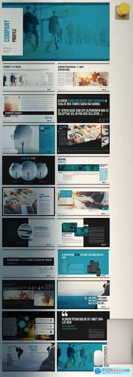 Modern Presentation Layouts 396371513