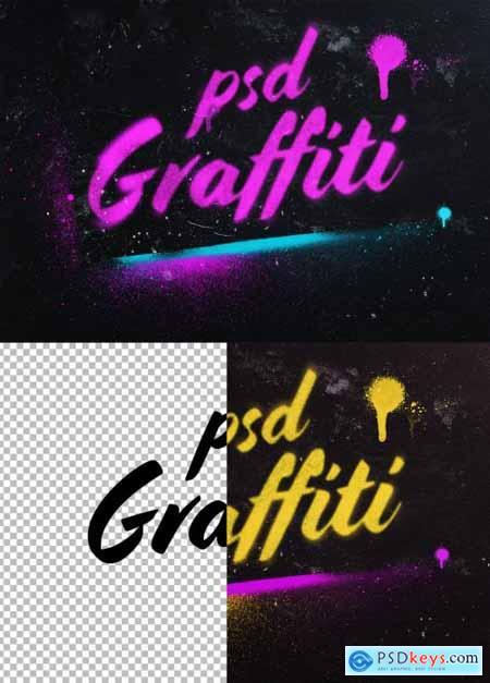 Photoshop Graffiti Text Effect 396645711