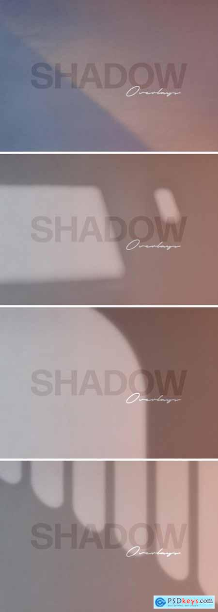 Shadow Overlay Mockup Set 398323747