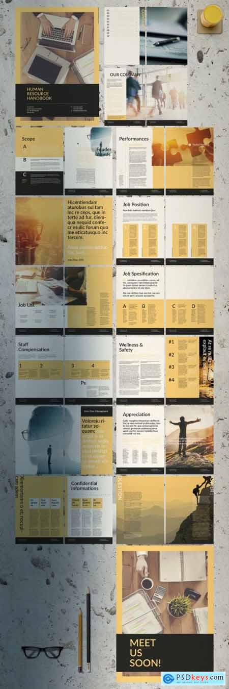 Human Resource Handbook 396371394
