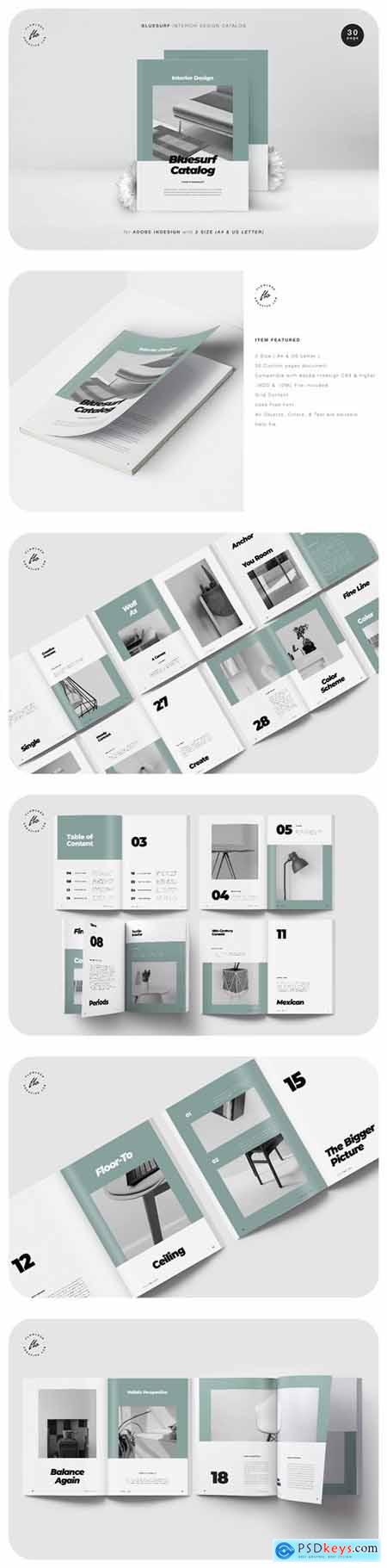 Bluesurf Interor Design Catalog