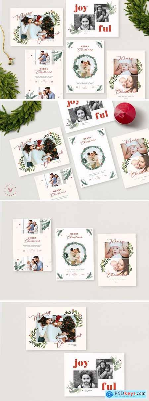 Christmas Photo Card - Holiday Card666