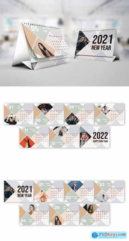 Tile Calendar 2021 – Calendar Template