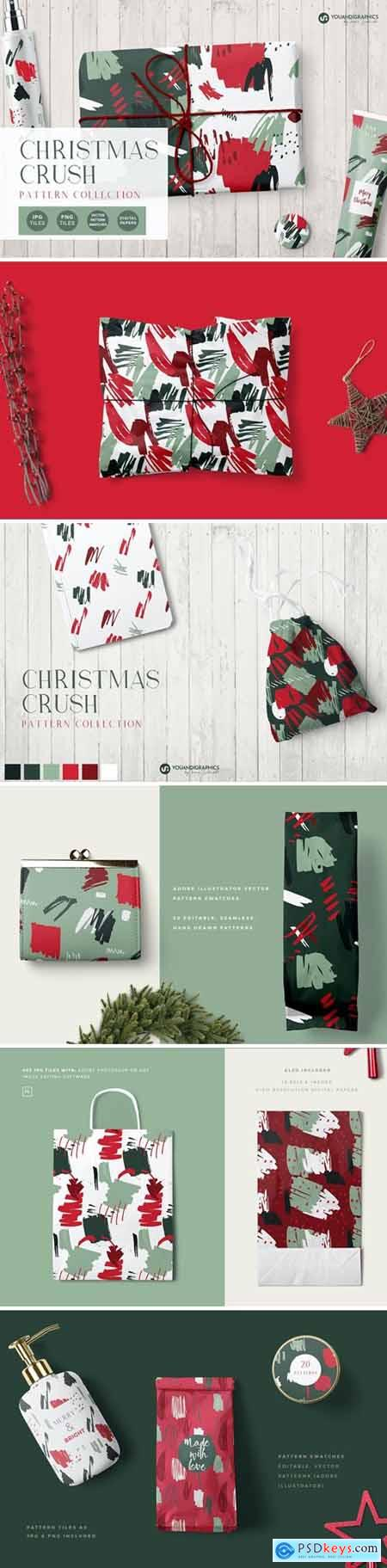 Christmas Crush Abstract Patterns 5613076