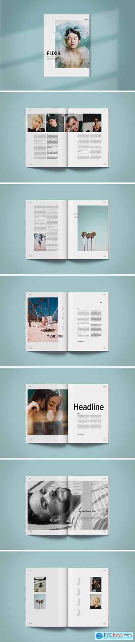 Magazine Template - Elixir
