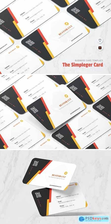 Simpleger Business Card