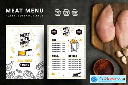 Restaurant Menu Template UZ
