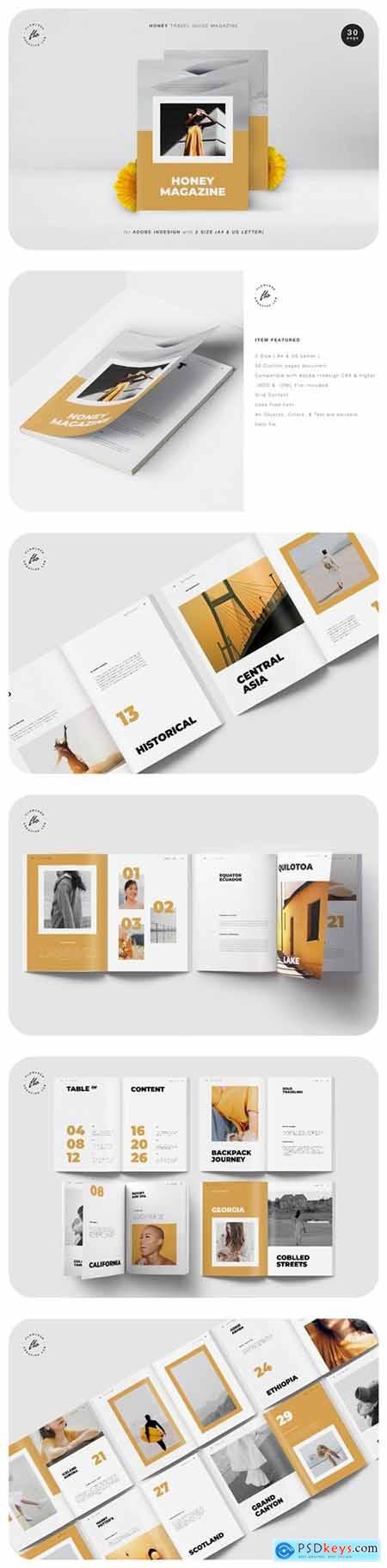 Honey Travel Guide Magazine