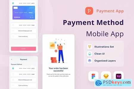Payment Method Mobile App