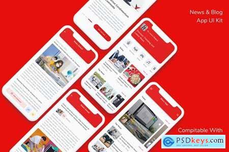 News & Blog App UI Kit