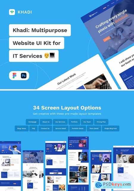 Khadi - Multipurpose Web UI Kit for IT Services