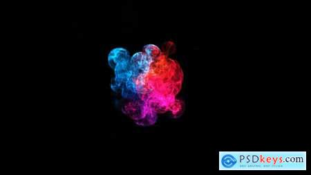 Revolving Smoke Logo Reveal 21041813