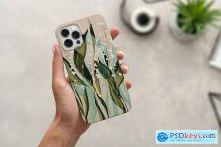 iPhone 12 Pro Case Mock-Up Isolated 5654132