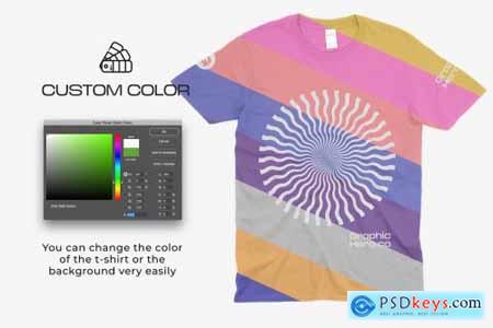 Gildan 64000 T-Shirts Mockups 5685183