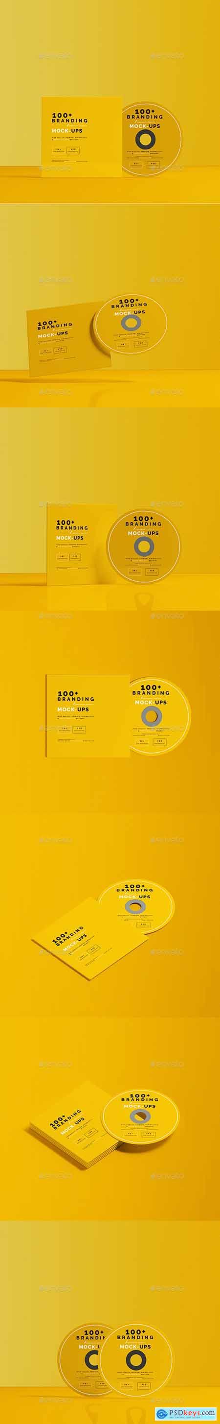 CD DVD Mockups 29621954
