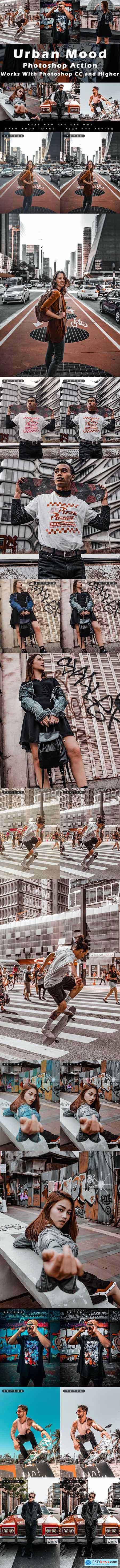Urban Mood - Photoshop Action 29183095