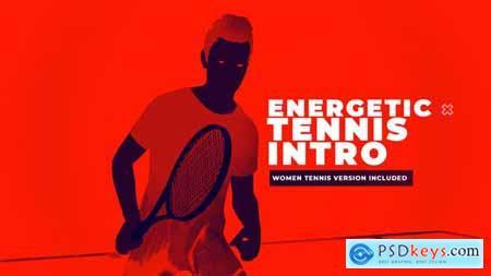 Energetic Tennis Intro 24045770
