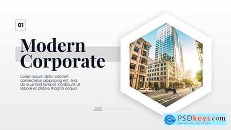 Modern Corporate - Clean Promo 21446262