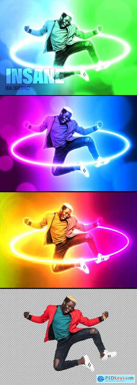 Dual Light and Neon Effect 398537357