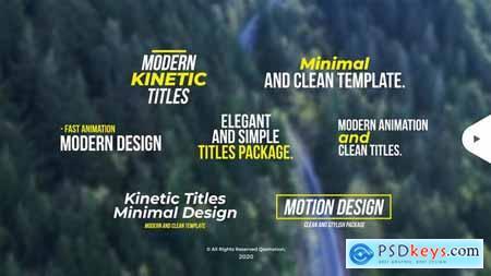 Modern Kinetic Titles 29703136