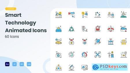 Animated Smart Technology Icons 29704199