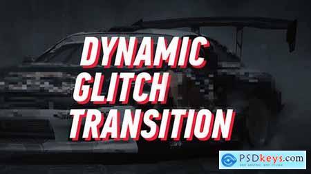 Dynamic Glitch - Lines Transition 19303394