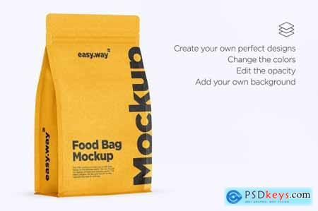 Paper Coffee Bag Mockup 5547171