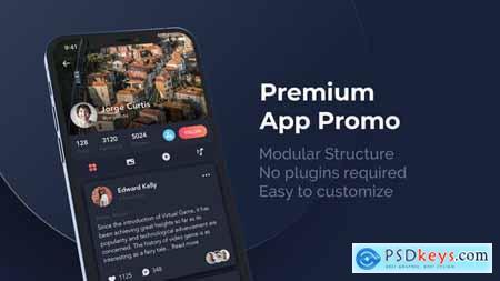 Premium App Promo Phone 12 Pro 29694511