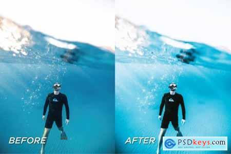 5 Underwater Lightroom Presets 5699142
