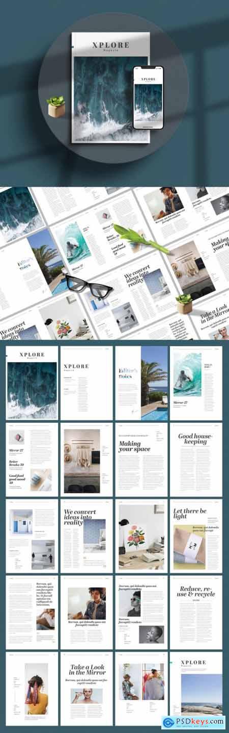 Minimal Magazine Layout 394759132