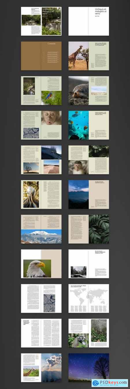 Sustainable Resilient Nature Design Book Layout 393617756