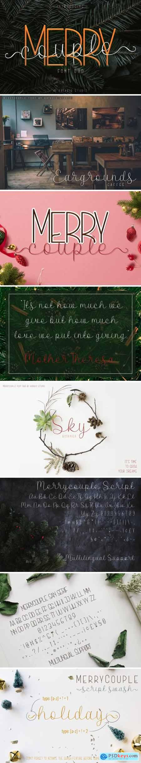 Merry Couple Font