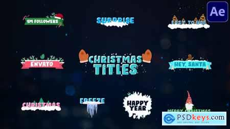 Christmas Titles - After Effects 29706941