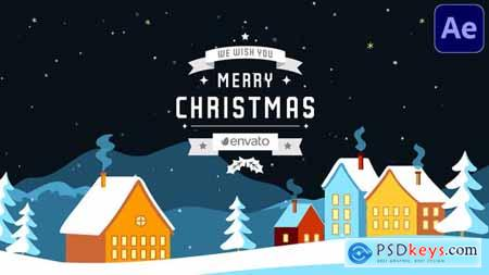 Christmas Snow Greetings - After Effects 29725582