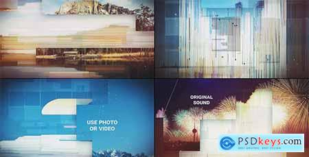 Cinematic Glitch Slideshow 17561753