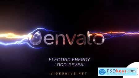 Electric Energy Logo Reveal 21085503