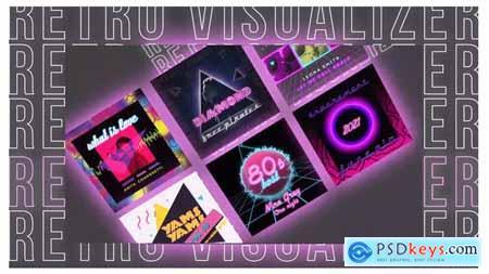Retro Music Visualizer Instagram 29717361