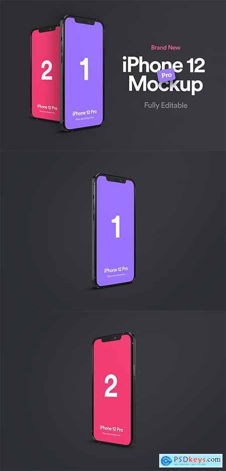 iPhone 12 Pro Mockup - Vol 01